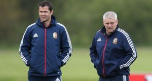 Andy Farrell was the Lions defence coach on the expeditions to Australia in 2013 and New Zealand four years ago under Warren Gatland. File photograph: Getty Images