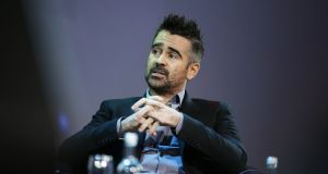 Colin Farrell: 'When I went away, I always felt I was representing Ireland in some way.' Photograph Nick Bradshaw for The Irish Times