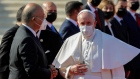 Pope Francis arrives in Iraq amid security fears