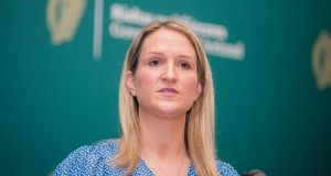 Minister for Justice Helen McEntee: said that if the new guidelines were approved, she would bring proposals to Cabinet on Tuesday on how to implement them. Photograph: Gareth Chaney/Collins