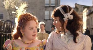 Bridgerton: Nicola Coughlan and Claudia Jessie's characters are perhaps its biggest love story. Photograph: Netflix