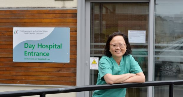 Dr Mimi Fan, consultant geriatrician at St Mary's:  'In the first wave, if you had no temperature, no symptoms, no shortness of breath, you were not getting swabbed.' Photograph: Alan Betson/The Irish Times
