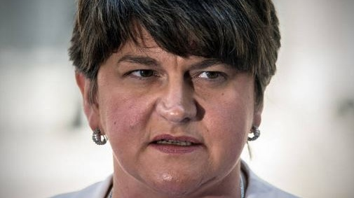 "Arlene Foster: It would be beneficial both to the North and the Republic if the vaccination programme was ""moving at a faster measure"" in the South. Photograph: Getty Images"