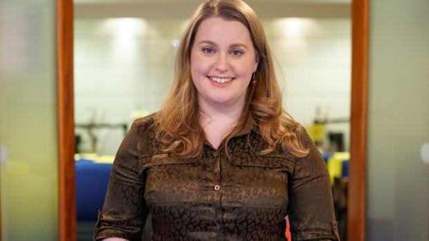 Louise Dodrill, responsable du registre des cadres et des mariages au bureau d'enregistrement de Dublin. Photographie: Enda O'Dowd
