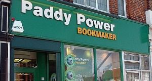 Flutter is the Dublin-headquartered owner of Paddy Power and Betfair. File photograph: PA