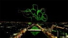 Drones light up Dublin sky for St Patrick's Day