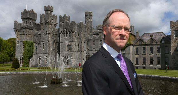 Niall Rochford, general manager of Ashford Castle in Co Mayo: 'Give us a plan or a target so I can give my team, guests, suppliers and owners some hope.'  Photograph: Joe O'Shaughnessy