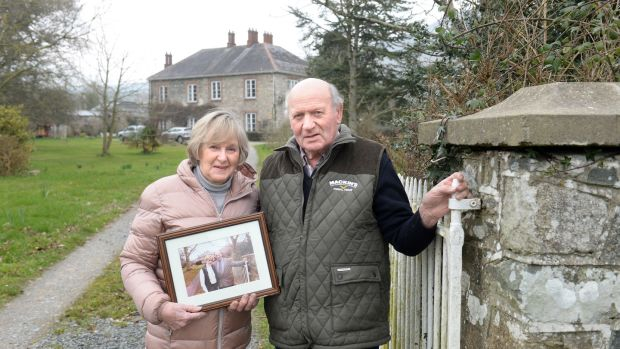 """Liam and Irene Woods, at their home on the Cooley Peninsula, Co Louth. Liam (80) recalls the """"eerie silence"""" around his farm in Castletowncooley in late March 2001 when hundreds of sheep were sent for slaughter. Photograph: Dara Mac Donaill"""