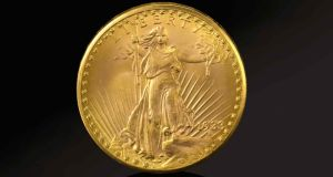 1933 Double Edge Eagle Coin, the only coin of its kind sanctioned for private ownership is valued at $10m-$15m (€8.4m-€12.6m)