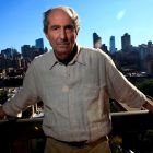 Author Philip Roth. Photograph: Eric Thayer/Reuters