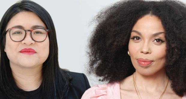 What white people can do next: Hazel Chu and Emma Dabiri. Photographs: Dara Mac Dónaill and Joanne O'Brien