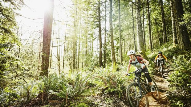 Mountain biking trails can be found in Sligo, Leitrim and Dublin among others. Photograph: Getty