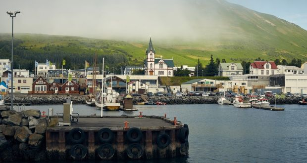 'The film gave Husavik worldwide recognition,' said one of the town's campaigners. Photograph: Suzie Howell/The New York Times