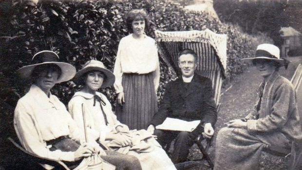 Teresa Deevy (third from left) was born in Waterford in 1894, the youngest of 13 children.