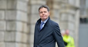 Paschal Donohoe: 'If you look at out wage subsidy scheme you will find that the one of the largest sectoral recipients has been aviation.' File photograph: Alan Betson/The Irish Times