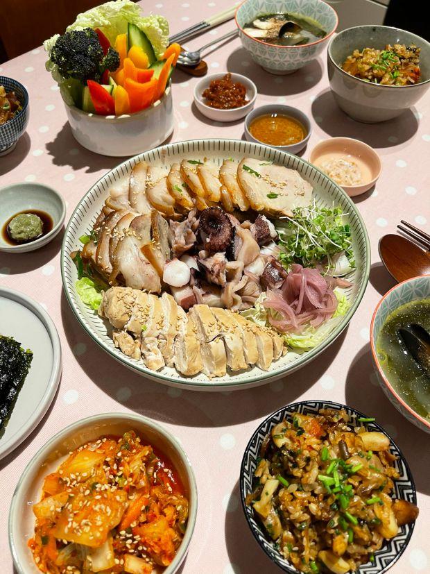 월간 한국의 맛을 자르의 향연.