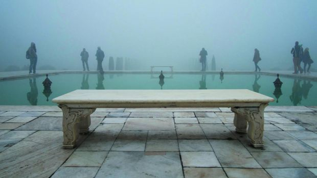 Taj Mahal, Agra, India, 2014, from Volte-face by Oliver Curtis
