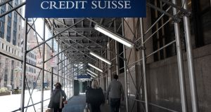 Analysts have estimated that the hit to Credit Suisse from the Archegos debacle may top $3 billion. Photograph: Getty