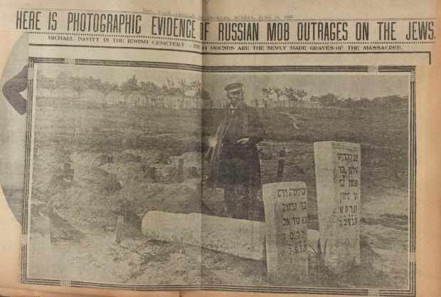 Michael Davitt's 1903 article on anti-Jewish pogroms.