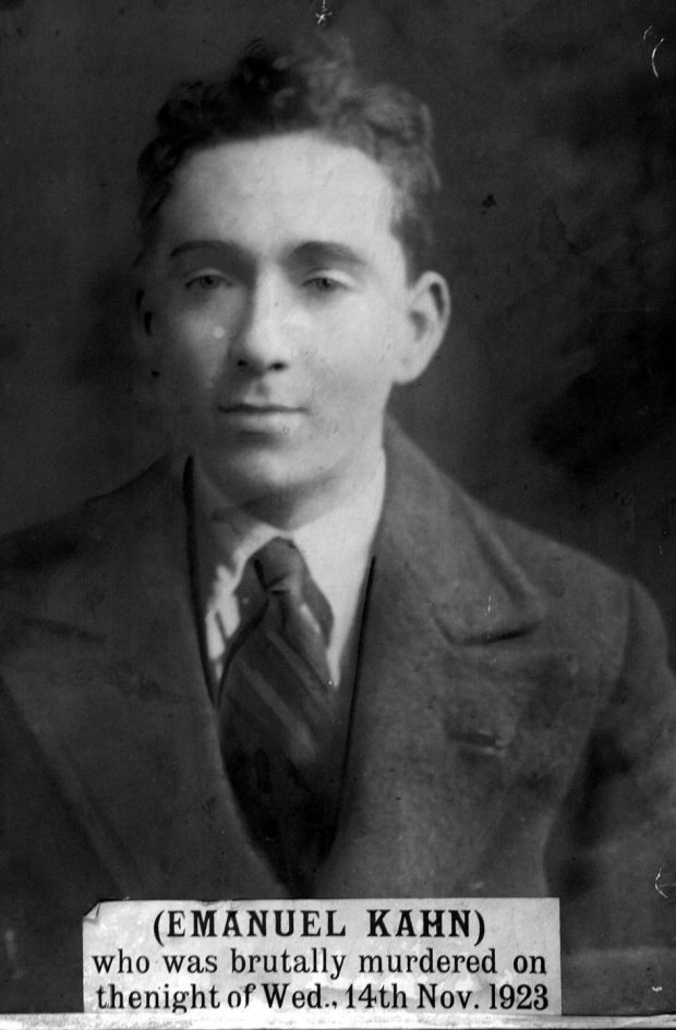 A photograph in the Jewish Museum, Dublin, of Emanuel Khan, a Jewish civil servant murdered in 1923 by Free State soldiers. Photograph: Eric Luke