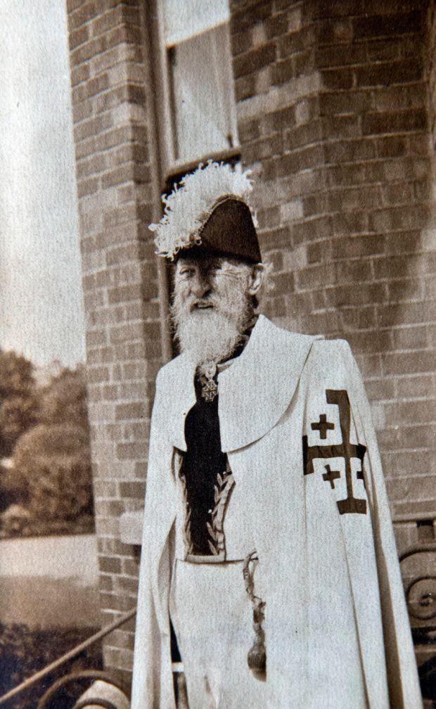 George Noble Count Plunkett. Photograph: Brenda Fitzsimons