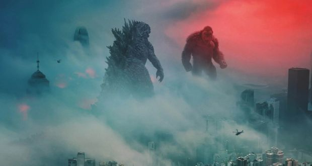 Godzilla and King Kong in Godzilla vs Kong