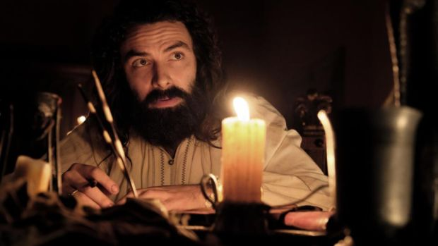 "Aidan Turner as Leonardo Da Vinci: ""All signs suggest he was more than likely a homosexual."""