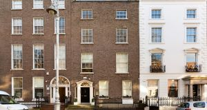 127 Lower Baggot St comprises 4,233sq ft with a garden patio of 500sq ft and up to four car parking spaces.