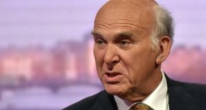 Vince Cable: The sweep of his essay  collection is impressive. It starts with Alexander Hamilton and ends with Donald Trump. Photograph: Jeff Overs/BBC/PA