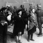 Polish Jewish resistance women, captured after the destruction of the Warsaw ghetto in 1943.  Photograph: Universal History Archive/Universal Images Group via Getty Images