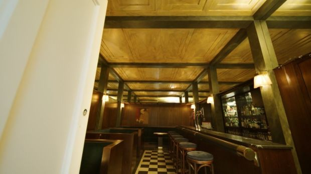 Replica of Adolf Loos' American Bar in Vienna