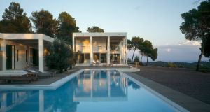 Morna Valley villa designed for Iris and the late Claus Michel on Ibiza