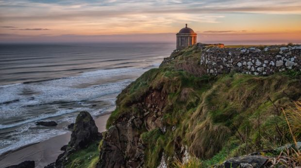 Mussenden Temple, Downhill Demesne, Castlerock, Co Derry. Has has became a major tourist attraction due to its popularity amongst Game of Thrones fans. Mussenden Temple, Downhill Demesne, Castlerock, Co Derry. Has has became a major tourist attraction due to its popularity amongst Game of Thrones fans.
