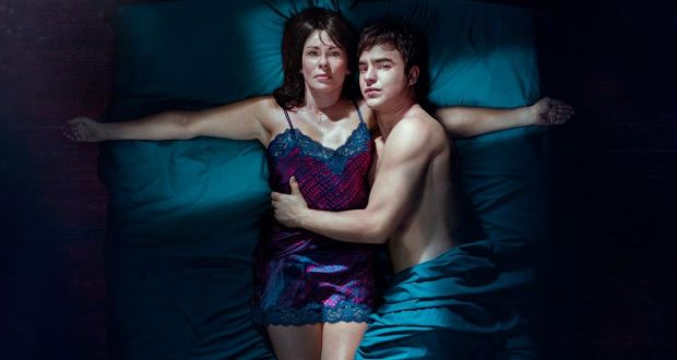 Julie Graham and Nico Mirallegro in Penance, beginning Monday on Virgin One
