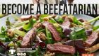 A €3.6 million 'become a beefatarian' campaign, funded by the European Union.