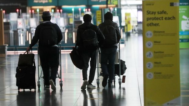 The Department of Health said quarantine must apply to people who have transited through high-risk country. File photograph : Brian Lawless/PA Wire