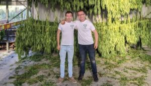 Greenheart CBD founders Paul Walsh and Mark Canavan: Many farmers find it difficult to obtain financing from banks for hemp production due to its connection with cannabis.