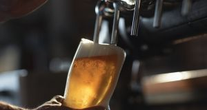 Irish beer exports fell 17 per cent last year to €254 million.