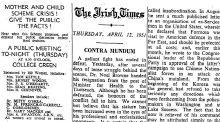 On this day 70 years ago The Irish Times published its most famous editorial