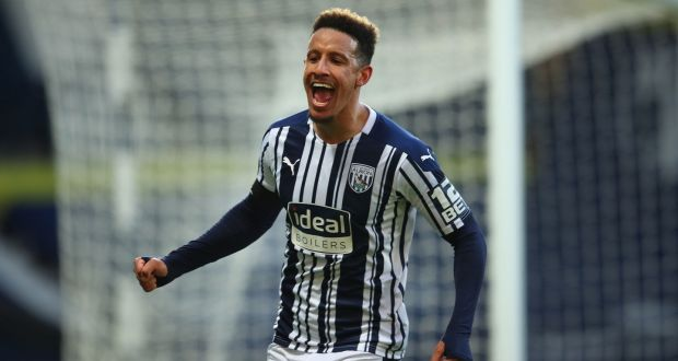 Irish striker Callum Robinson was among the goals in West Brom's win over Southampton last night. Photograph: PA