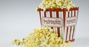 'There's hard bits of popcorn touching my brain,' he said shaking his head wildly. Photograph: iStock