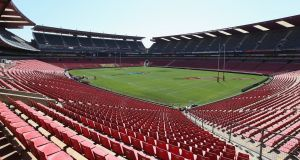 Ellis Park in Johannesburg is due to host the third Test between South Africa and the Lions on August 7th. Photograph:  David Rogers/Getty Images
