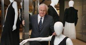 Galen Weston, who has died aged 80, pictured in Brown Thomas in Dublin in 2008. Photograph: Matt Kavanagh.