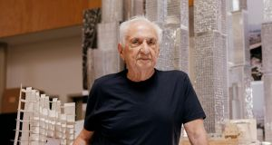 Frank Gehry at his architecture studio in Los Angeles. Photograph: Erik Carter/The New York Times