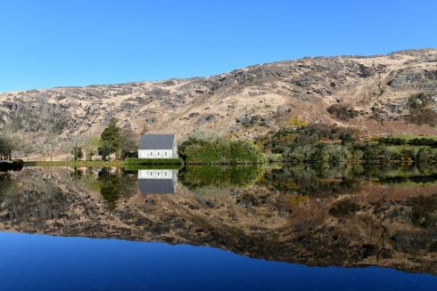MOMENT OF REFLECTION: A view of Gougane Barra, in Co Cork. Photograph: Kevin Daly
