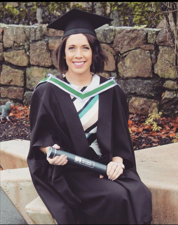 Ciara O'Meara has completed an MA in teaching and an MA in nursing education. She now works full time as a clinical research nurse.