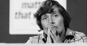Shirley Williams at the Labour party conference in 1976. Photograph: John Minihan/Getty Images