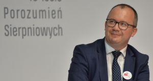 Poland's human rights ombudsman, Adam Bodnar. Photograph: Artur Widak/NurPhoto via Getty Images