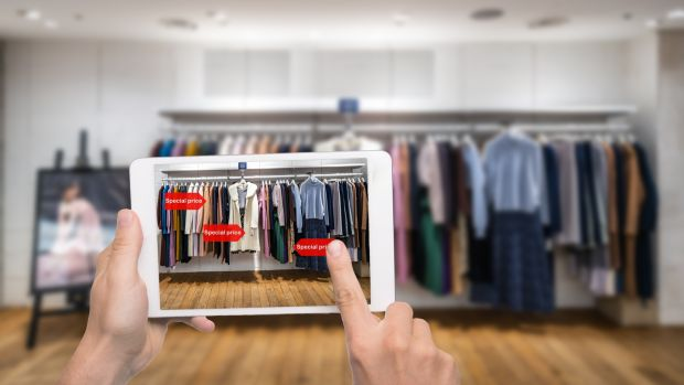 Augmented reality, video games and NFTs (non-fungible tokens) could change the way consumers collect, wear and trade fashion. Photograph: Getty Images
