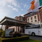 Dublin Airport Crowne Plaza hotel, one of the mandatory hotel quarantine hotels. Photograph: Colin Keegan/Collins